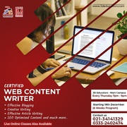 Become a Certified Content Writer