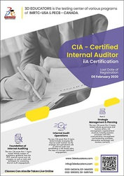 CIA - Certified Internal Auditor with iiA Certification